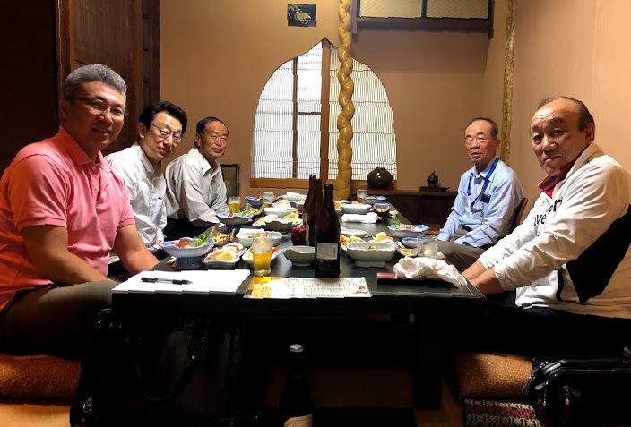 歴代会長による座談会のイメージ